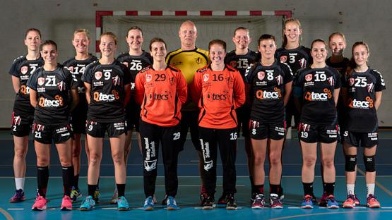 Dames 1 – HV Uilenspiegel wint tegen Sprimont met 27-16