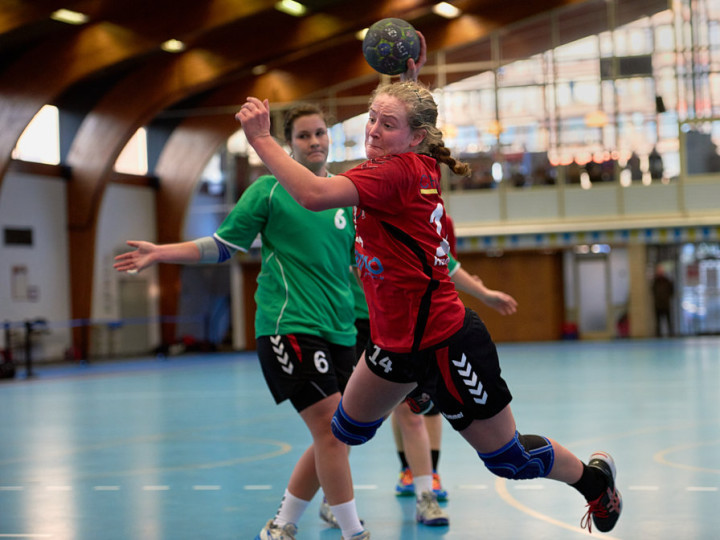 Dames 1 wint op Gent !