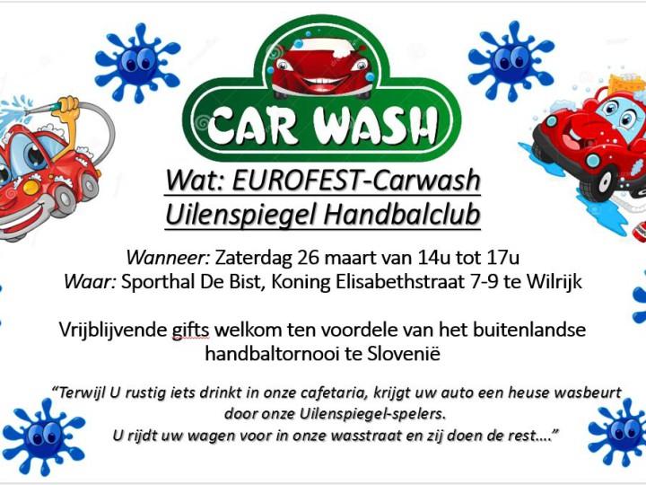 Carwash voor Slovenië