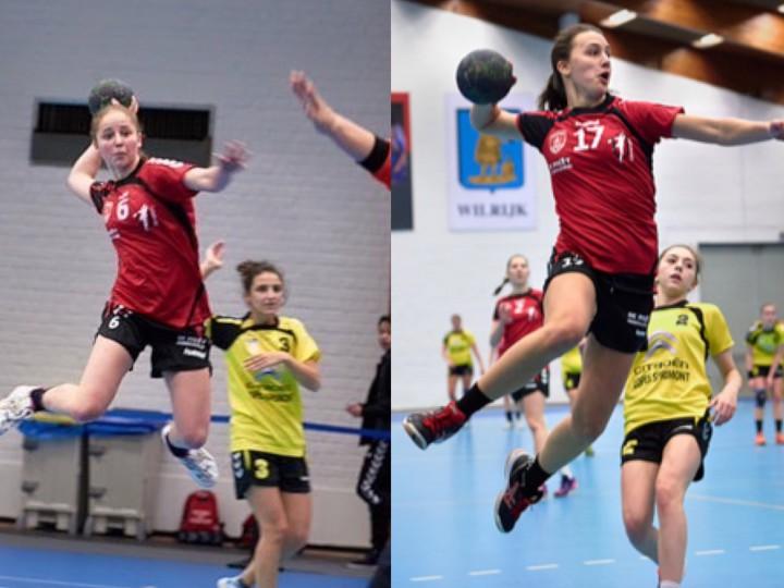 Sofie en Lotte geselecteerd voor Belgische  ploeg  -19