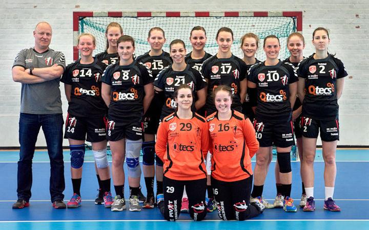 Dames 1 winnen tegen Dendermonde (27-17) in hun nieuwe tenues