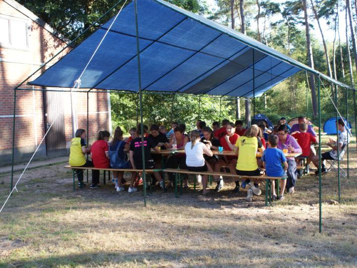 Handballen tijdens de zomervakantie