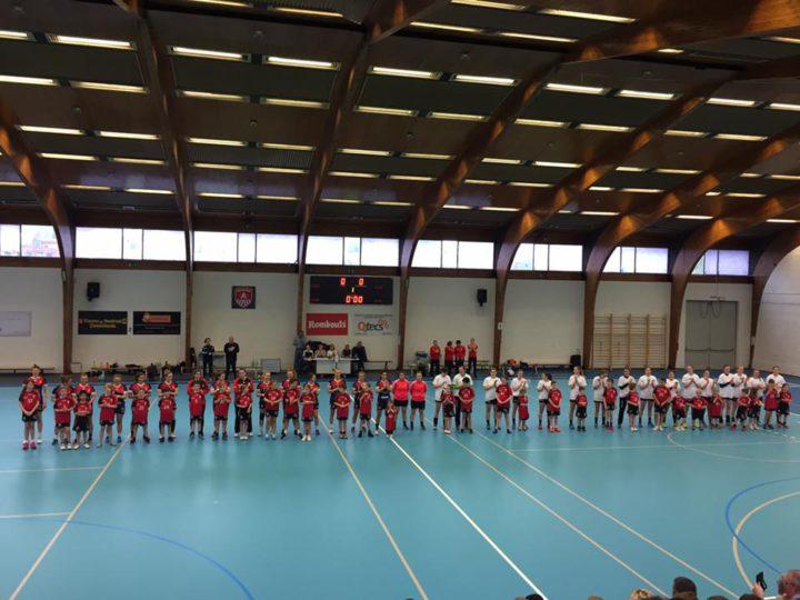 40 vrijwilligers laten damesweekend vlekkeloos verlopen in sporthal De Bist.