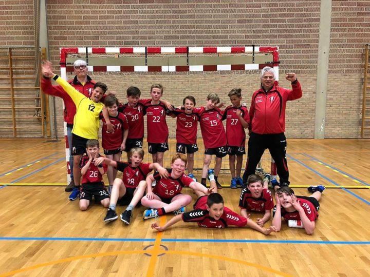 U12 wint beker van A'pen  – Vlaams Brabant