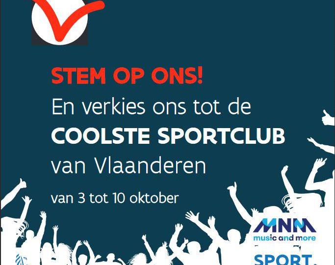 coolste sportclub van Vlaanderen