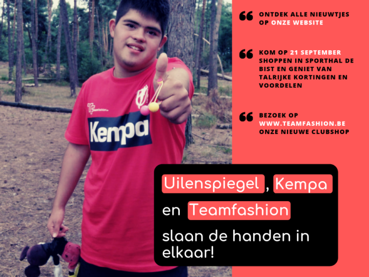 Uilenspiegel, kempa en Teamfashion