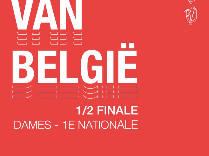 1/2 finale Beker ven België